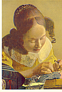The Face Maker Vermeer of Delft Postcard cs4693 (Image1)