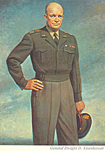 Dwight D Eisenhower Painting By Thomas E Stephens Cs4697