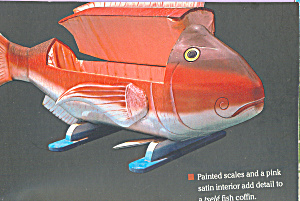 Coffin Shaped Like A Fish (Image1)