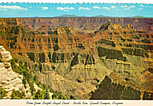 View from North Rim Lodge Grand Canyon National Park AZ  cs4765 (Image1)