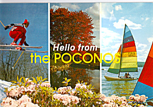 Scenes from the Poconos Pennsylvania (Image1)