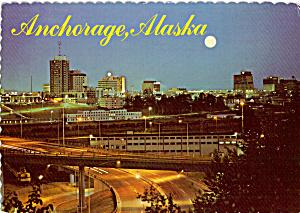 Moon Over Anchorage Alaska cs4817 (Image1)