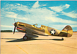 Curtiss P40E Warhawk of The Flying Tigers (Image1)