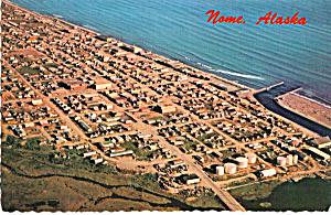 Aerial View Nome, Alaska (Image1)