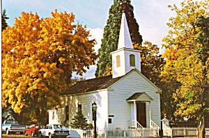 Methodist Church 1854 Jacksonville  Oregon cs4862 (Image1)