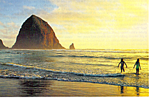 Oregon Coast Postcard cs4868 (Image1)