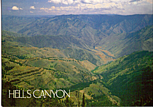 Hells Canyon Oregon Cs4885