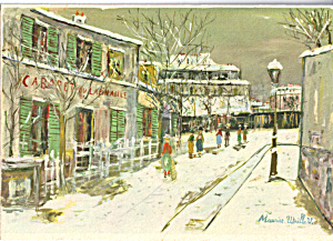 The Lapin Agile Maurice Utillo Postcard cs4899 (Image1)