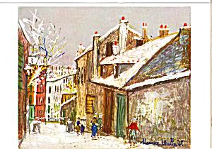 Maison Mimi  Maurice Utillo Postcard cs4901 (Image1)