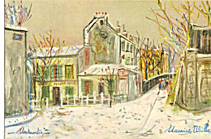 Lapin Agile Rue St Vincent, Maurice Utillo (Image1)