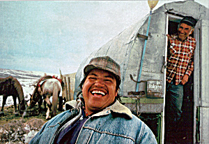 Sheep Herders with Chuck Wagon (Image1)