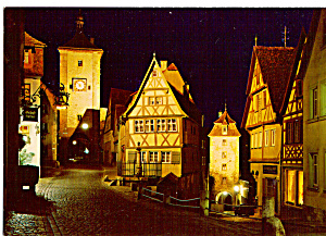 Rothenburg Ob Der Tauber Germany Cs4975