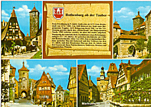 Rothenburg Ob Der Tauber Germany Cs4990