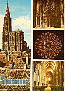 Views Of The Cathedral Strasbourg France Cs5033