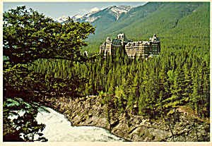 Banff Springs Hotel Banff National Park Cs5038