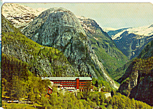 Stalheim Hotel  Norway Postcard cs5049 (Image1)
