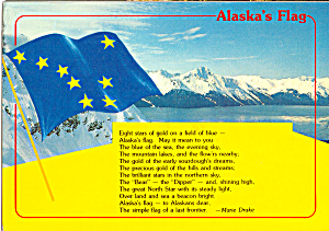 Alaska State Flag and Poem by Marie Drake cs5125 (Image1)