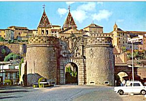 Toledo, Spain, Gate of Bisagra (Image1)