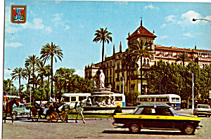 Sevilla Spain Puerta Jarez Square Alfonso XIII Hotel cs5160 (Image1)