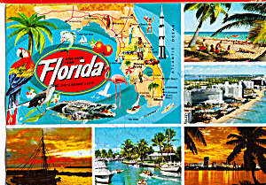 Florida State map and other views (Image1)