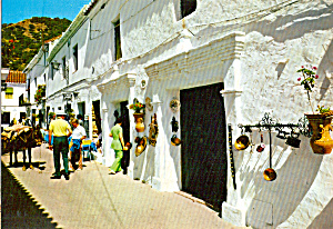 Typical Street Mijas Costa del Sol Spain cs5206 (Image1)