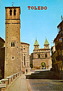 Saint Jacques el Arrabal and Bisagra s Door Toledo Spain  cs5220 (Image1)