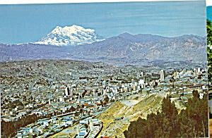 La Paz Vista panoramica con Monte Illimani cs5300 (Image1)