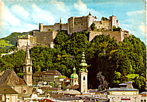 Fortress Hohensalzburg Franciscan Church and St Peter Austria cs5239 (Image1)