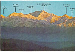 Mount Kanchenjunga,Darjeeling, India (Image1)