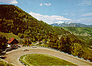 Aerial View of Semmering Pass Road Austria cs5246 (Image1)