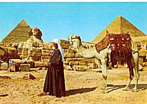 Giza Egypt The Pyramids and The Sphinx cs5252 (Image1)