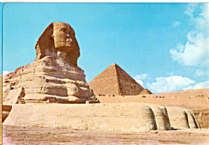 The Sphinx and Pyramid of Cheops Egypt cs5257 (Image1)