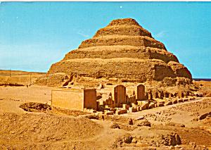 Sakkara King Zoser s Step Pyramid cs5269 (Image1)