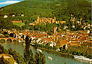 Heidelberg, Philosophenweg, Castle und Alte Brucke (Image1)