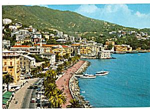Rapallo Italy Promonade along the Sea (Image1)