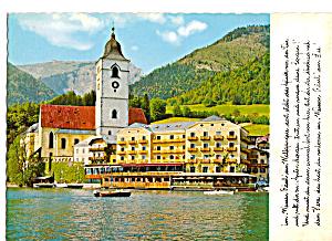 St Wolfgang die Perle im Salzkammergut Austria cs5302 (Image1)
