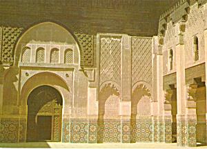 Marrakech Morocco Medersa Ben Youssef cs5304 (Image1)