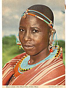 Masai Woman kenya cs5307 (Image1)