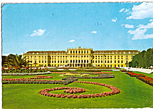 Vienna Austria Castle Schonbrunn Postcard cs5355 (Image1)