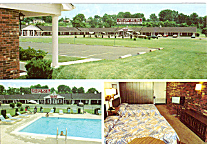 Holiday Motel Barea Kentucky Postcard cs5362 (Image1)