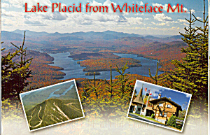 Lake Placid From Whiteface Mountain Ny Cs5375