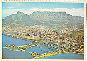 Aerial View of Cape Town South Africa (Image1)