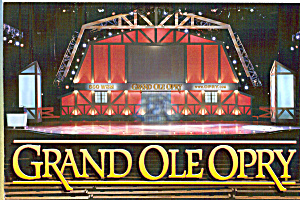 Stage Of The Grand Ole Opry Cs5415