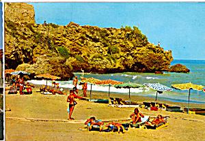 Torremolinos Costa del Sol Spain Cliffs at its Beach cs5426 (Image1)
