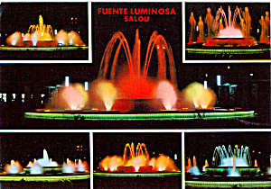 Salou Spain, Luminous Fountains (Image1)