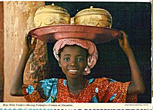 Brass Ware Vendor Kenya  Africa cs5440 (Image1)