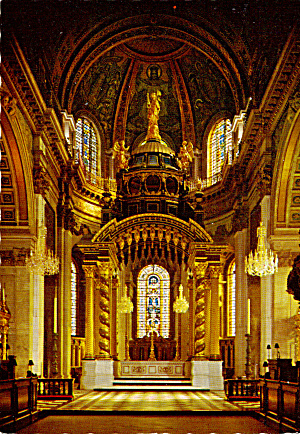 High Altar St Paul s Cathedral London cs5504 (Image1)