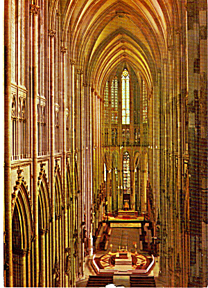 Interior Cologne Germany Cathedral Cs5507