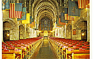 Interior Of The Cadet Chapel West Point New York Cs5512