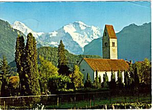 Kirche Unterseen bei Interlaken Switzerland cs5514 (Image1)